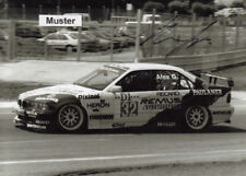 Autographe sur photo 13x18 cm STW 1995 Alex gaggl-BMW 320i