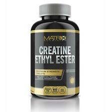 CREATINE ETHYL ESTER - MUSCLE GAIN - INCREASE ATP 240 TABLETS - MATRIX NUTRITION