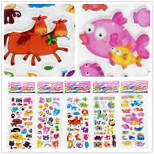"Funny Sticker lot 3d Foam Classic Cartoon kids favor Gifts ""Cartoon Animals"" hot"