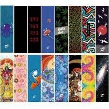 Professional Skateboard Grip Tape Graphic Art Scooter Sandpaper Skate Deck Grips