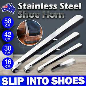 16/30/42/58cm Shoe Horn Professional Metal Shoehorn Stainless Steel Lifter Tool