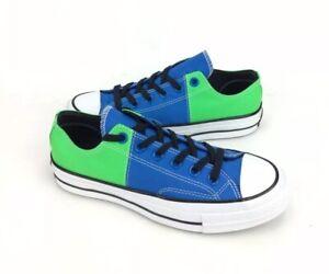 NEW Converse Chuck 70 Ox Colorblock Blue Green Womens Shoes Sneakers Nylon Sz 7