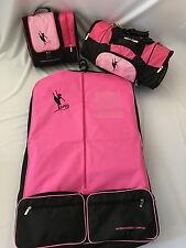AMDance Designs Bright Pink Basic Dance Bag Package