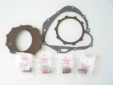 Honda cb Four 400 kit frizione dischi 6+1 guarnizione coperchio molle originali