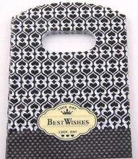 50pcs Plastic Gift Bags Pouch Wedding Jewellery Christmas Gift Bag 15x9cm