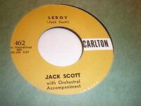 Jack Scott 45 Leroy CARLTON