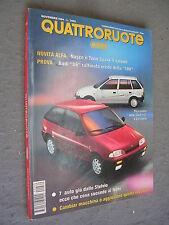 QUATTRORUOTE # 469 - NOVEMBRE 1994 - SUZUKI SWIFT E TWIN SPARK 4V - QUASI OTTIMO