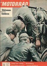 M6110 + Eifelrennen + Motor-Arbeiten AJS 350 + Das MOTORRAD Nr. 10 vom 13.5.1961