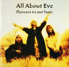 "ALL ABOUT EVE flowers in our hair EVEN X4 uk phonogram 1987 12"" PS EX/EX"