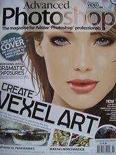 CREATE VEXEL ART 2009 Advanced Photoshop #55 & FREE CD!