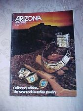 ARIZONA HIGHWAYS APRIL 1979 COLLECTOR'S EDITION-THE NEW LOOK IN INDIAN JEWELRY