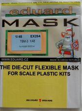 Eduard 1/48 EX264 Canopy Mask for the Hobby Boss TBM-3 Avenger kit