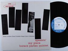 HORACE PARLAN QUINTET Speakin' My Piece BLUE NOTE LP VG++/VG+ japan reissue >
