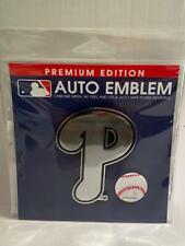 Wincraft Premium Edition Baseball Auto Emblem Baseball Phillies NEW