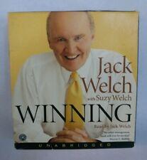 Winning Audiobook Jack Welch Management Book Personal Development 9 CDs 11 Hours