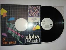 "NEW ORDER fine time Philippines 12"" P/S Alpha Records FEP-89-7003 1989 Giant"