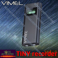 Voice Recorder Listening Device Micro Vimel Activated Dictaphone No Spy Hidden