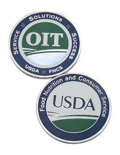 USDA OIT Challenge Coin