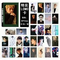 30pcs /set Kpop EXO SEHUN For Life Personal Photocard Poster Lomo Cards