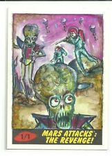 2017 Topps Mars Attacks The Revenge ! Martians Sketch Card by Lily Mercado