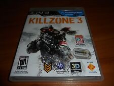 Killzone 3 (Sony PlayStation 3, 2011) Complete PS3