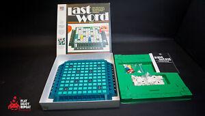 Vintage Dernier Mot Board Jeu Milton Bradley Complet Rapide