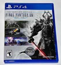 Replacement Case (NO GAME) The Complate Edition Final Fantasy XIV PlayStation 4