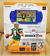 Brand New,Sealed Sony PSP 2000 Madden NFL 09 Bundle Metallic Blue System RARE!!