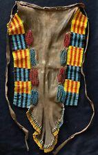 Pagne femme Turkana Kenya seconde moitié du XXe Afrique Africa Cuir Perles .