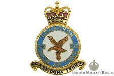 Reines COURONNE ROYAL AIR FORCE 216 ESCADRON Unit RAF plaque BADGE - CZ85