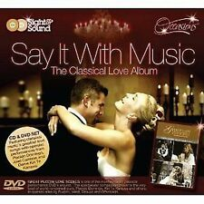 Say It With Music The Classical Love Album CD+DVD NEW SEALED 2008 Jose Carreras+