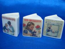 Birchcroft Thimbles -- Miniature Book Style  -- Set of Three Good Housekeeping