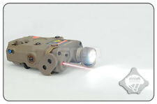 FMA PEQ-15 Upgrade Ver LED White Light Red Laser W/ IR Lenses & Code DE TB0067