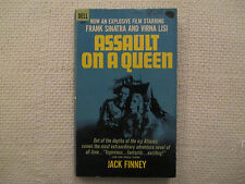 1966 Assault On A Queen Jack Finney Dell 03332 1st ed paperback FN-