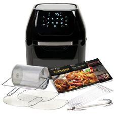 Power Air Fryer Cooker 3-in-1 Multi-Functional Cooker Air Fryer Rotisserie Oven