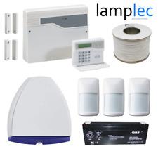 Honeywell Burglar Alarm System - With Panel, Keypad, 3 PIRs, Bell & Battery Kit