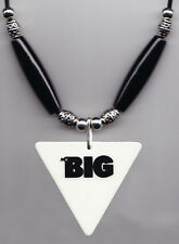 Mr. Big Billy Sheehan Signature Triangle Guitar Pick Necklace - 1989 Tour Talas
