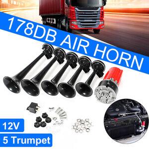 125DB DIXIE Musical Air Horn Dukes of Hazzard & Compressor General Lee Car Truck