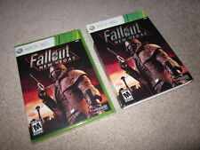 Fallout New Vegas original vanilla print+slip cover/sleeve Xbox 360/One new RARE