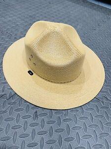 US National Park Service Summer Service Stratton Ranger Hat 7 3/8 EXCELLENT