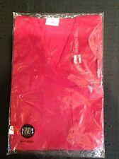 Vintage 60s BVD Nylon RED Rockabilly V neck Pocket Undershirt T Shirt XS