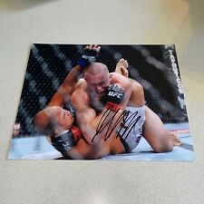 GEORGES ST-PIERRE autographed signed 8X10 PHOTO UFC FIGHTER CHAMP MMA