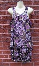 Ladies Purple,Grey,Black,Green,Brown Mini Dress by Pussycat London, Size L, VGC