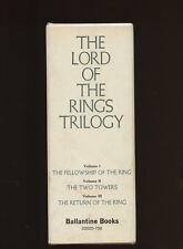 Tolkien, JRR: Lord of the Rings Box Set (Ballantine TPB 3 Vols) HB/DJ  1st/2nd