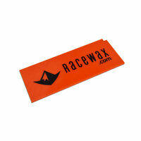 RaceWax Ski Wax Scraper, 3 mm, Orange