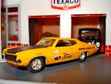 1970 70 FORD TORINO SUPER COBRA JET LIMITED EDITION 1/64 GOLD M2 FORD POWERED