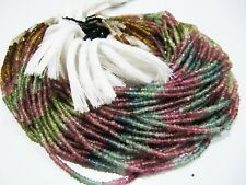 AAA Quality Natural Multi Tourmaline Bead, Micro Faceted Beads , Size 2.5-3mm