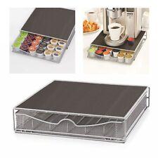 Coffee Machine Stand & Capsule 36Pod Holder Storage Drawer Nespresso,Dolce Gusto