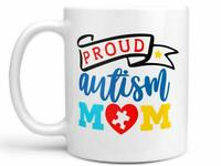Autism Awareness Coffee Mug Or Coffee Cup Proud Autism Mom Coffee Mug Or Coffee