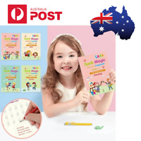 Sank Magic BOOK Practice Mathematical-Shape-Drawing-Alphabet-Number Kids AGE 3-5